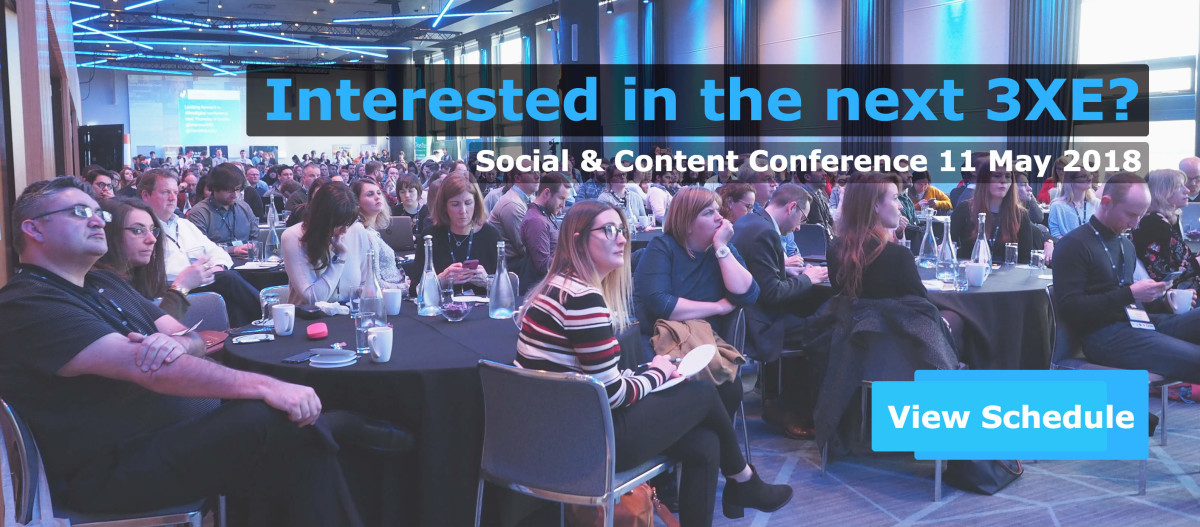 3XE Social Media & Content Marketing Conference